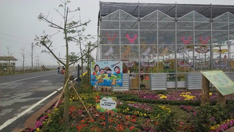 三水宝苞农场玻璃温室-广州市煌城温室工程有限公司承建
